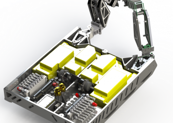 Argus Rover Skid